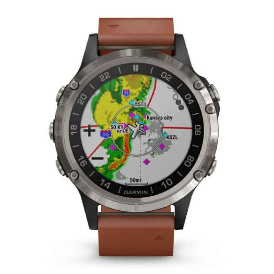 GARMIN - OROLOGIO D2 DELTA PILOT WATCH