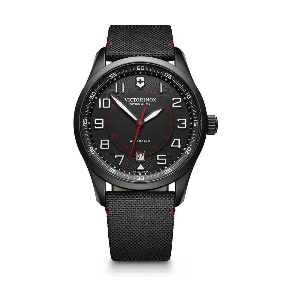 VICTORINOX - OROLOGIO AIRBOSS MECHANICAL BLACK EDITION
