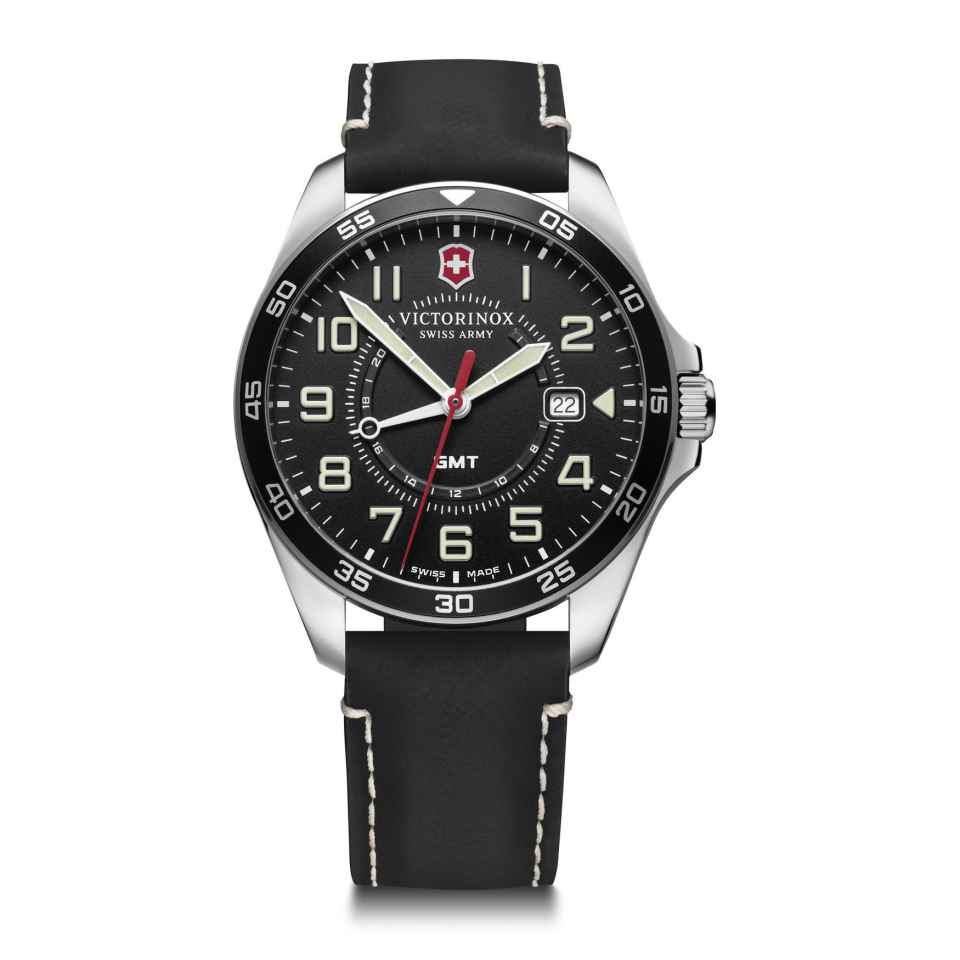 VICTORINOX - OROLOGIO FIELDFORCE GMT NERO
