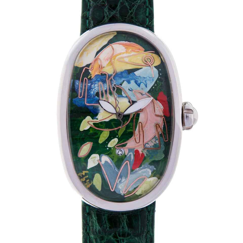 ELIA ART - OROLOGIO SMALL WORLD 05/17