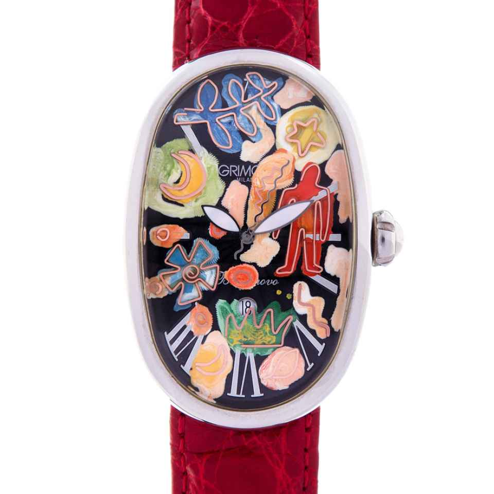 ELIA ART - OROLOGIO SMALL WORLD 06/17