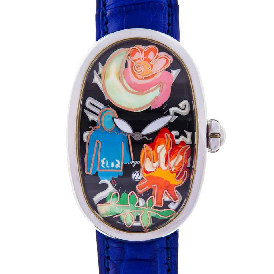 ELIA ART - OROLOGIO SMALL WORLD 24/17