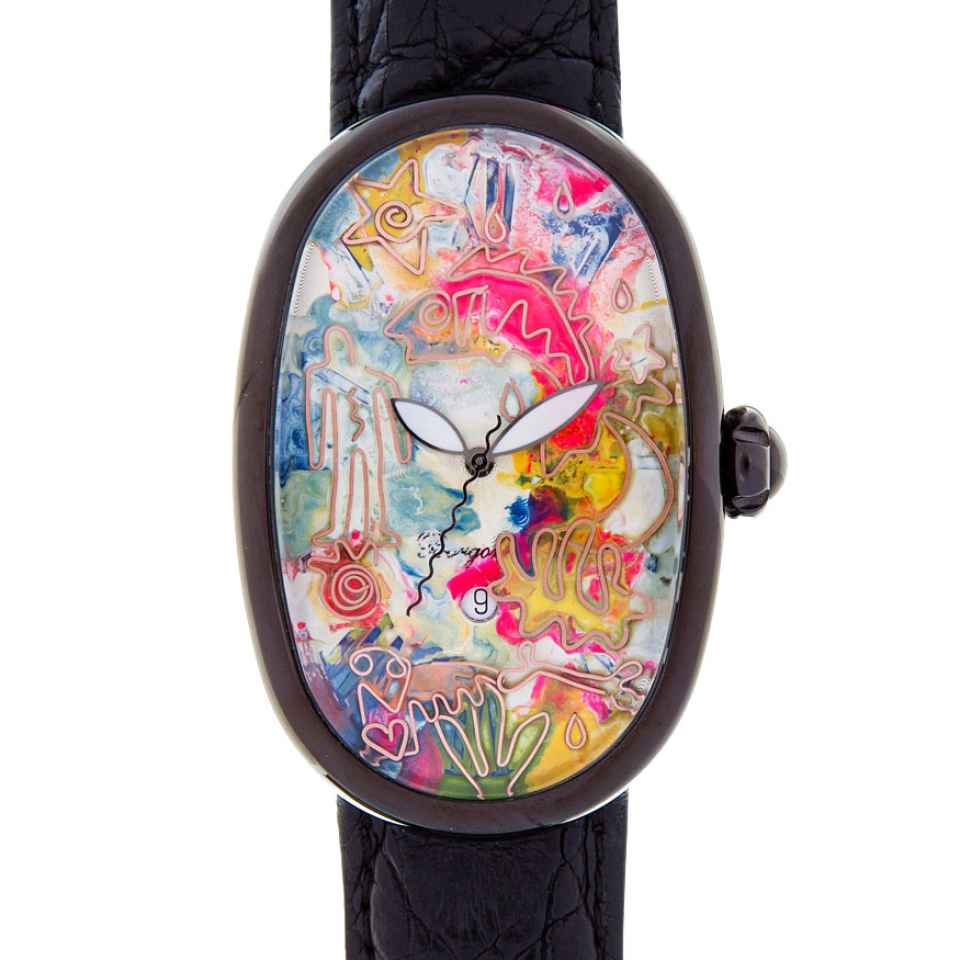 ELIA ART - OROLOGIO SMALL WORLD 33/17