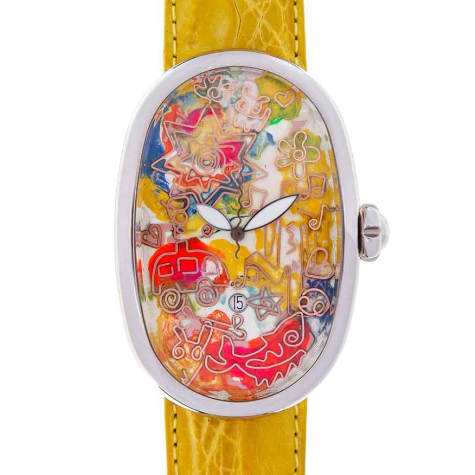 ELIA ART - OROLOGIO SMALL WORLD 40/17