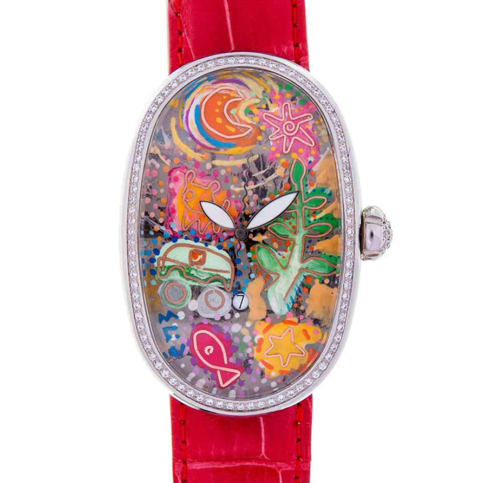 ELIA ART - OROLOGIO SMALL WORLD 46/17