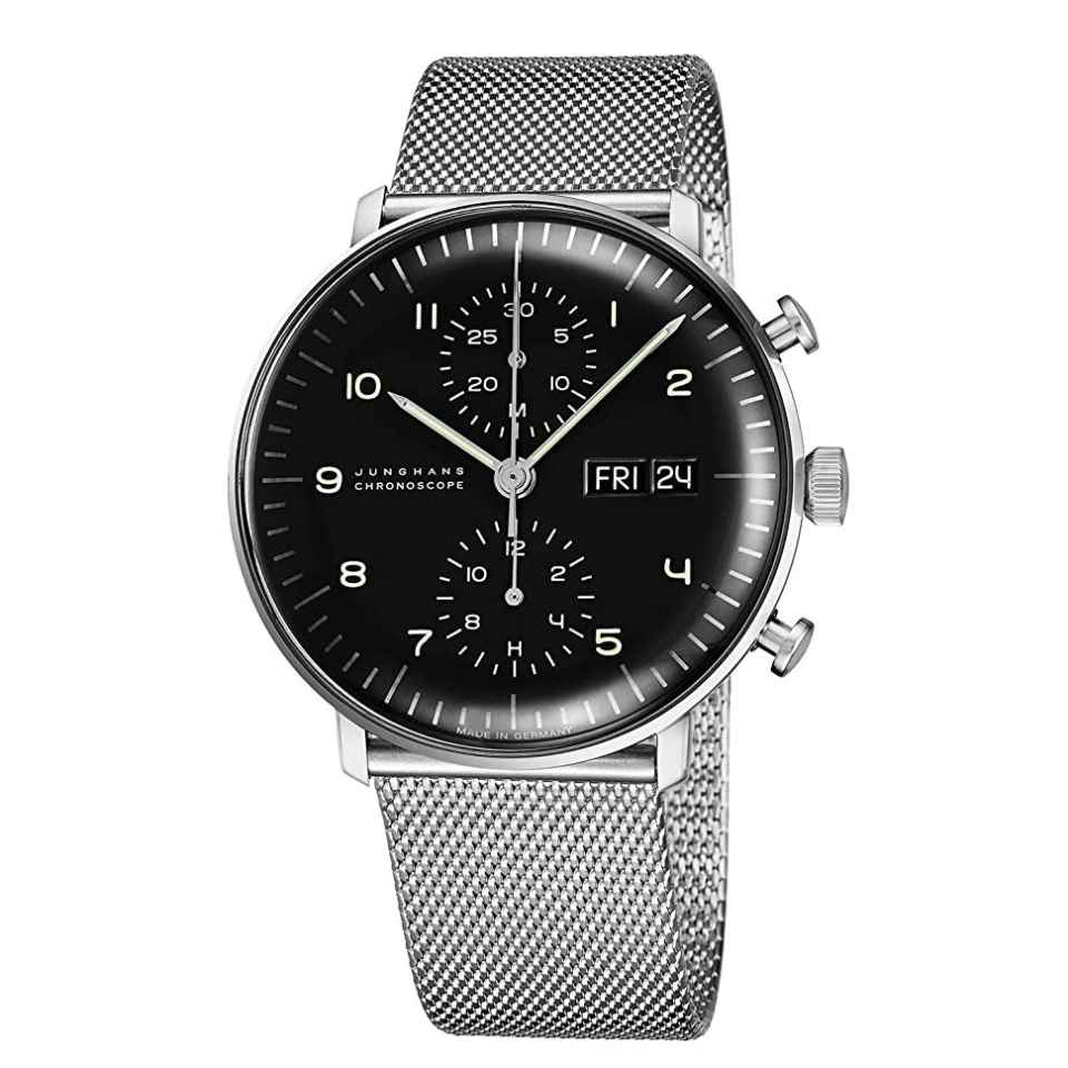 JUNGHANS - OROLOGIO MAX BILL CHRONOSCOPE