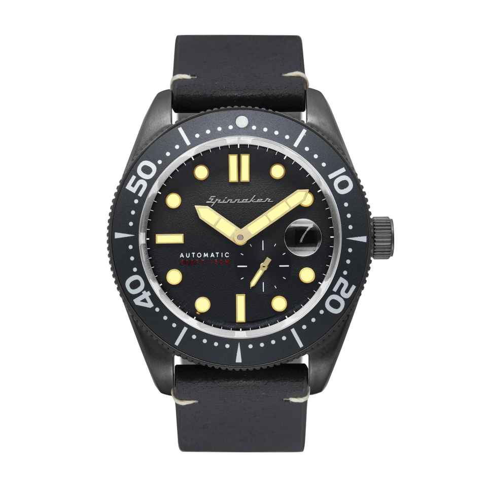 SPINNAKER - OROLOGIO CROFT STEALTH GREY