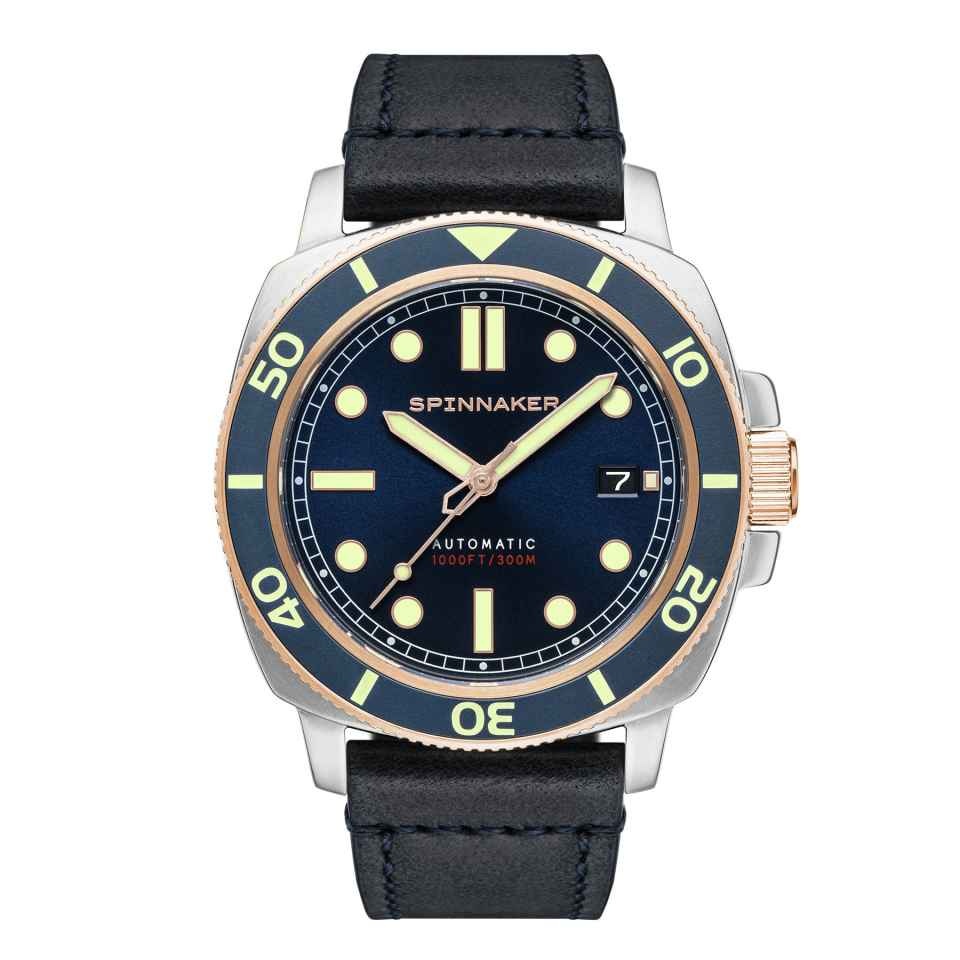 SPINNAKER - OROLOGIO HULL DIVER OFFICER BLUE
