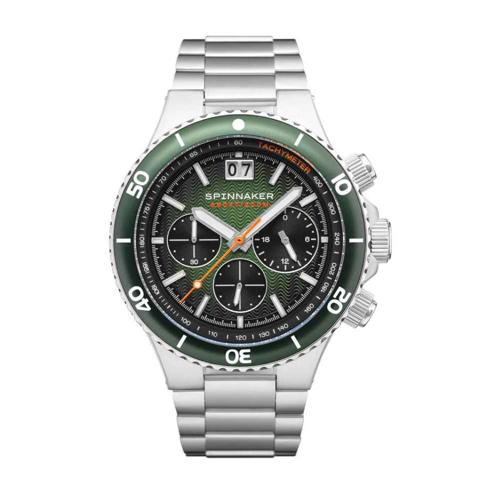 SPINNAKER - OROLOGIO HYDROFOIL RACING GREEN